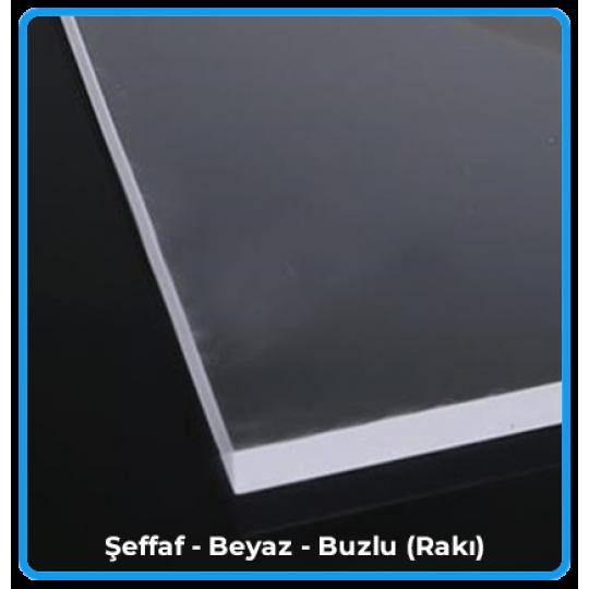 205x305 cm - Yerli Dökme Akrilik Levha